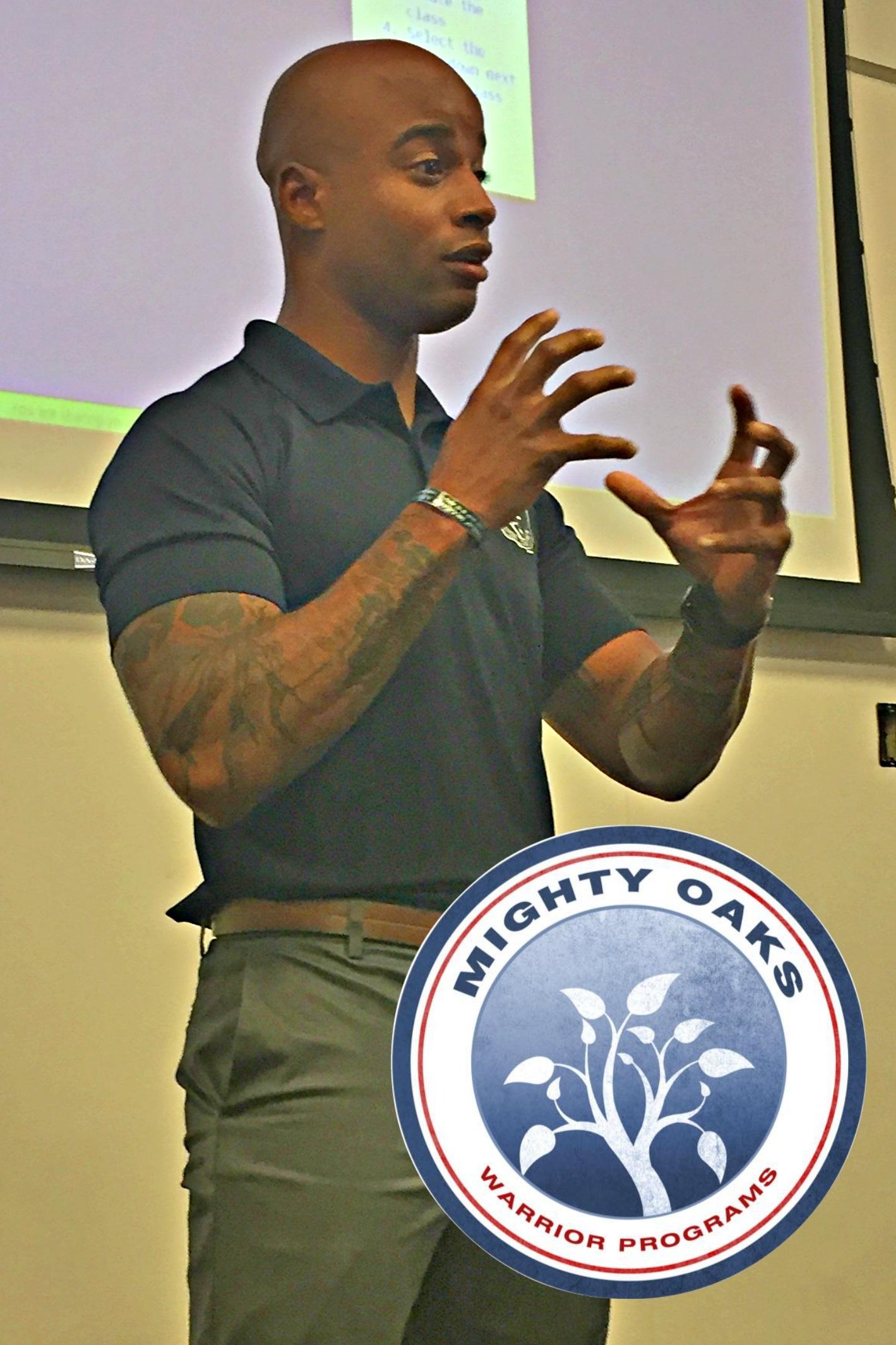 Mighty Oaks Warrior Programs Briefs Trademark Managers on PTSD