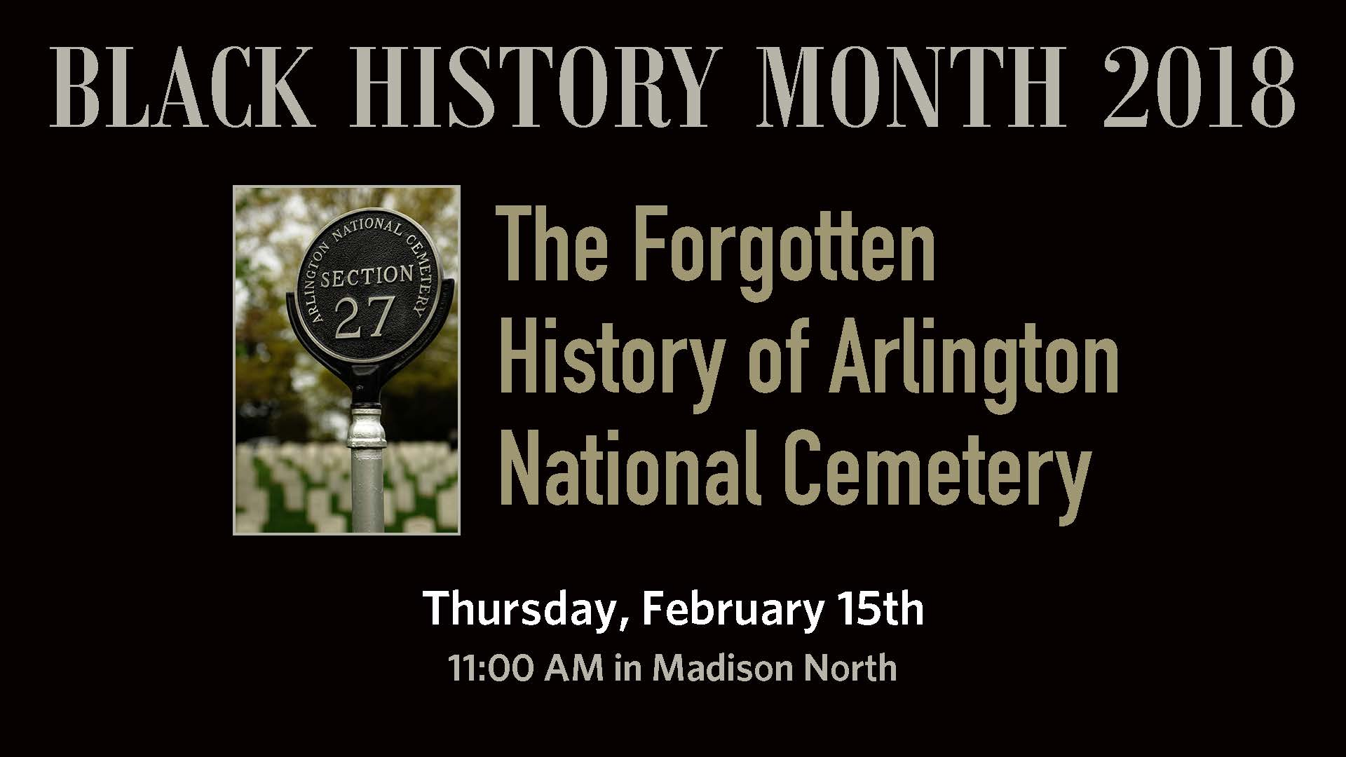 """Black History Month Author Meet and Greet: Ric Murphy & Timothy Stephens, Authors of """"Section 27 – The Forgotten History of Arlington National Cemetery"""""""