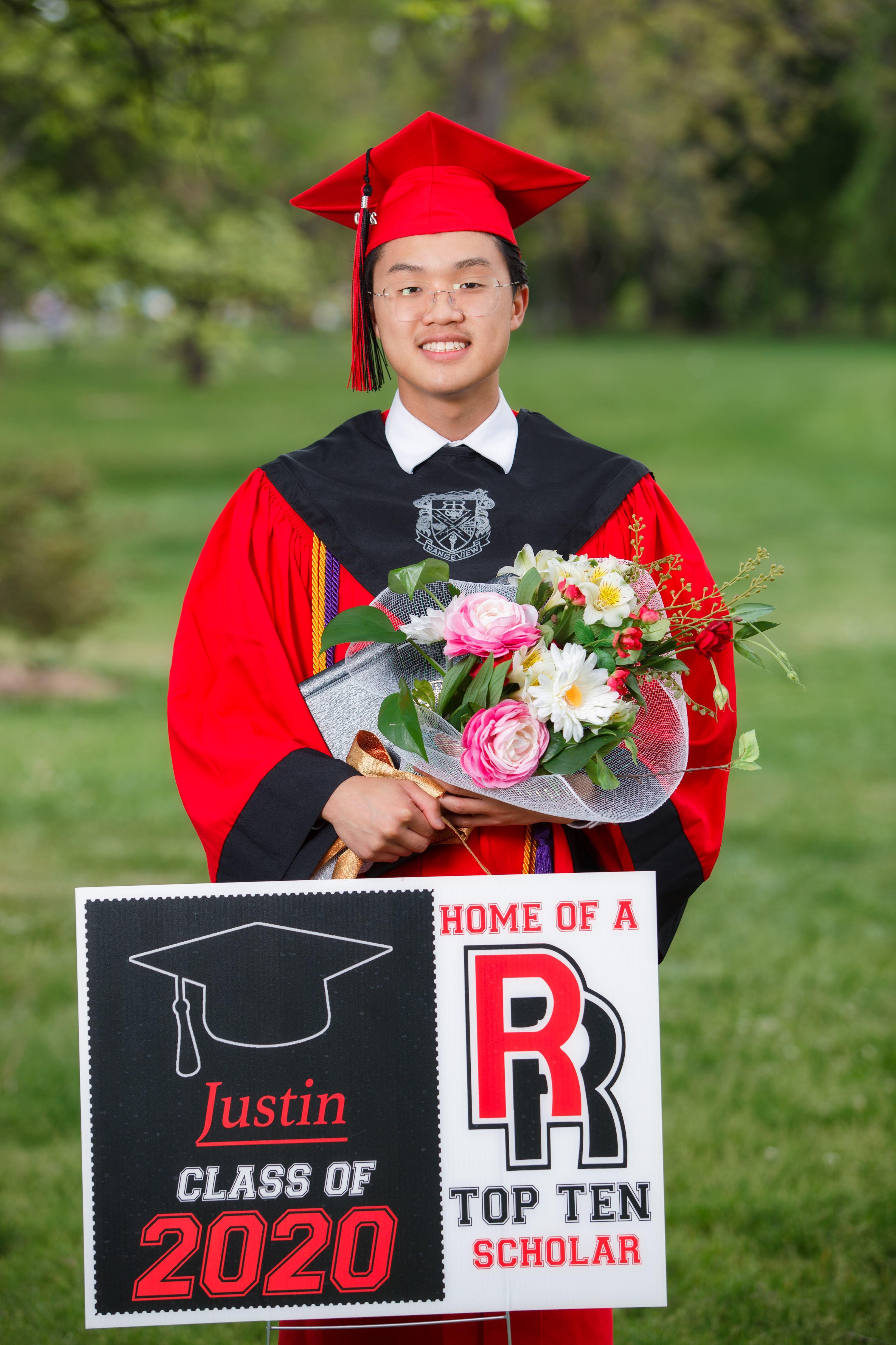 Congratulations Justin Hoang!  Class of 2020