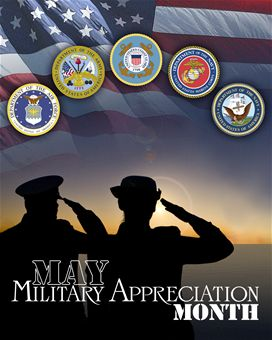 Celebrate National Military Appreciation Month with the USPTO Military Association