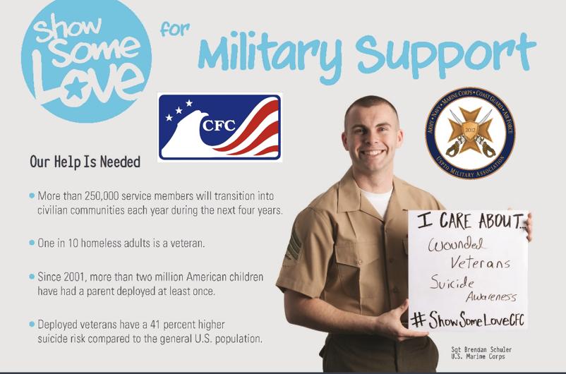 UMA Sponsored Veteran-Military CFC Charity Fair on November 15
