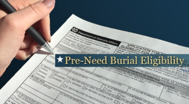 Pre-Need Burial Eligibility Determination - National Cemetery Administration