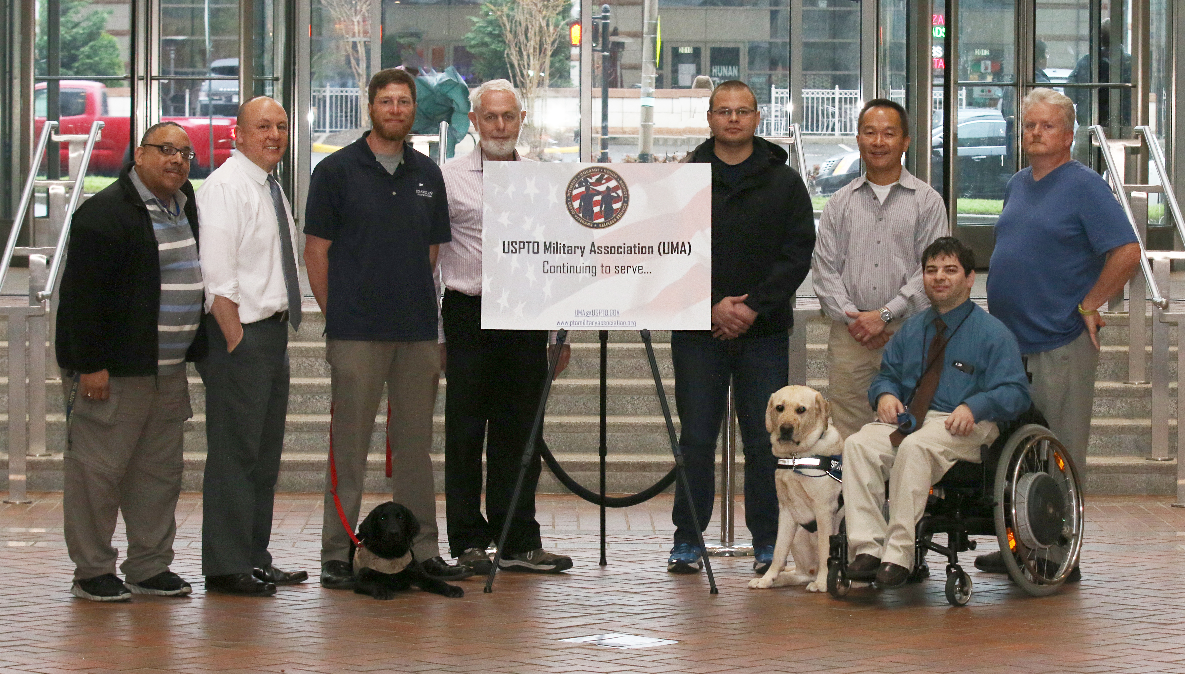 Semper K9 Assistance Dogs Visits the UMA and ResponsAbility