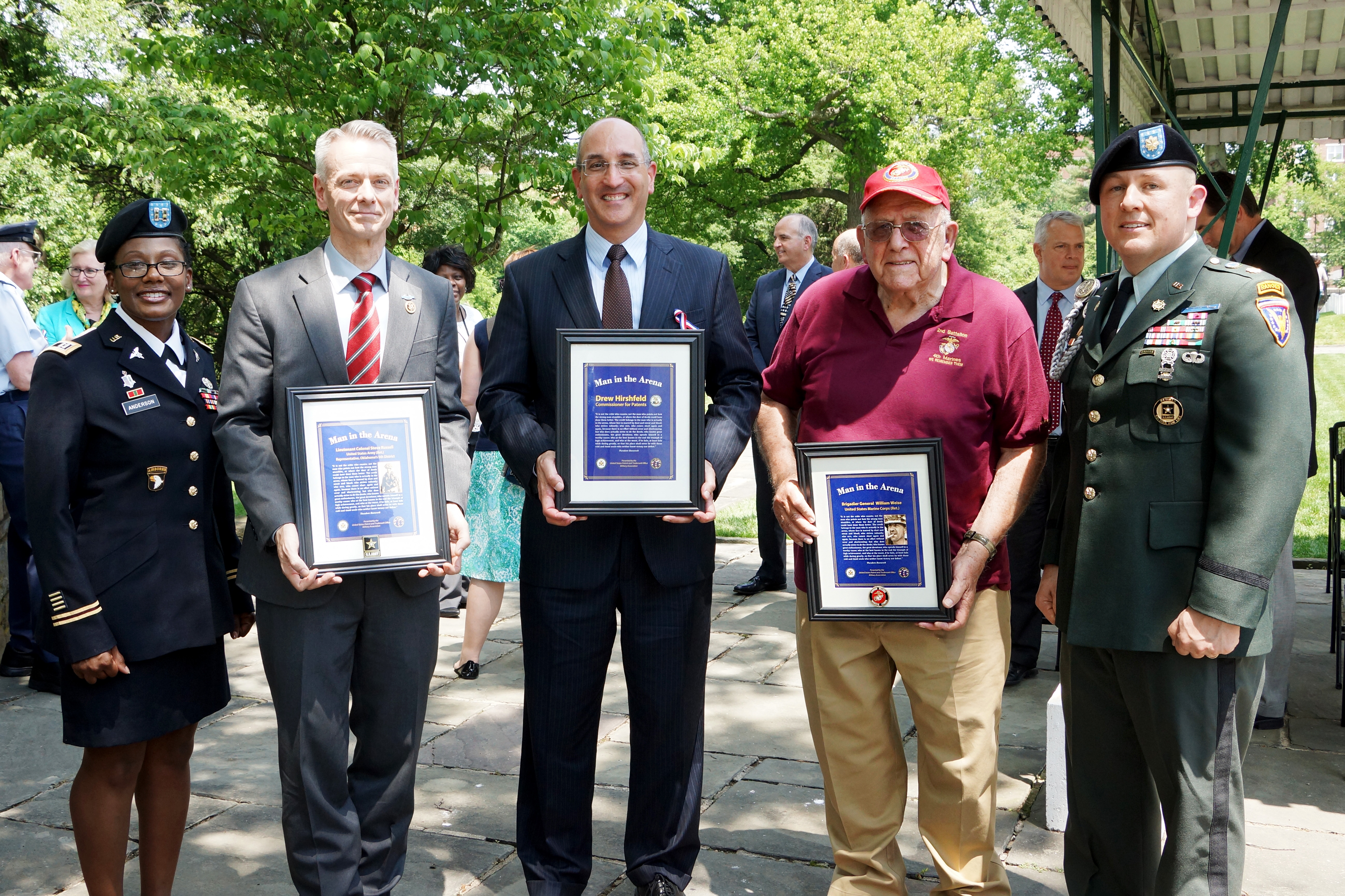Memorial Day Walk of Thankful Recognition
