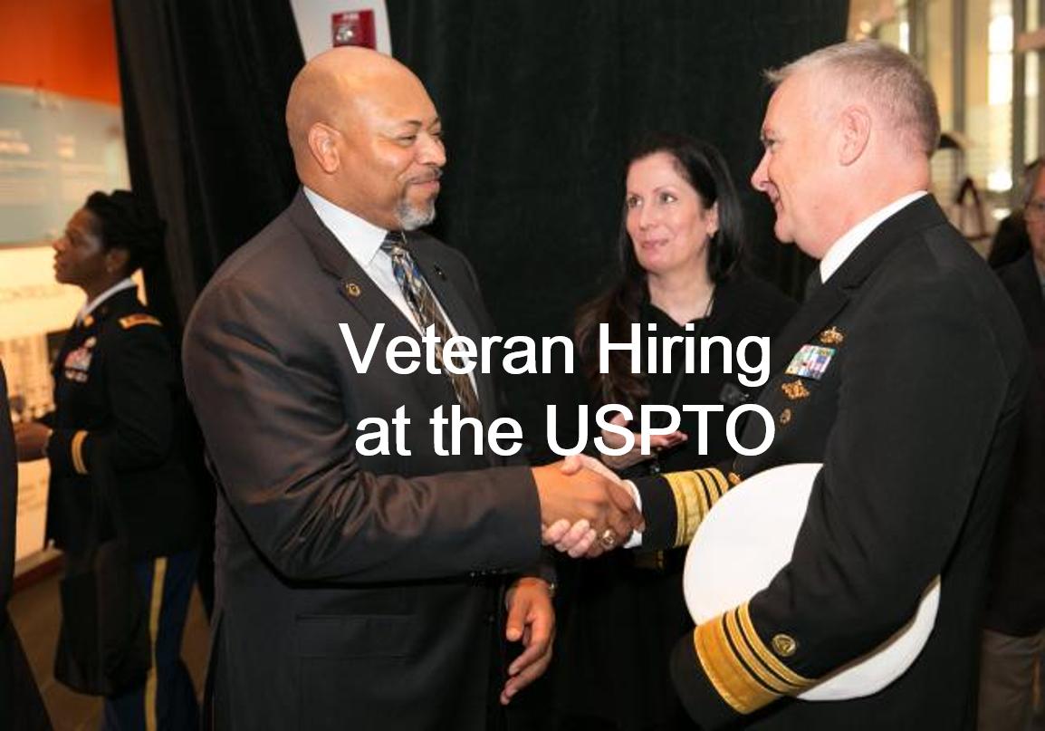 Veteran Hiring at the USPTO